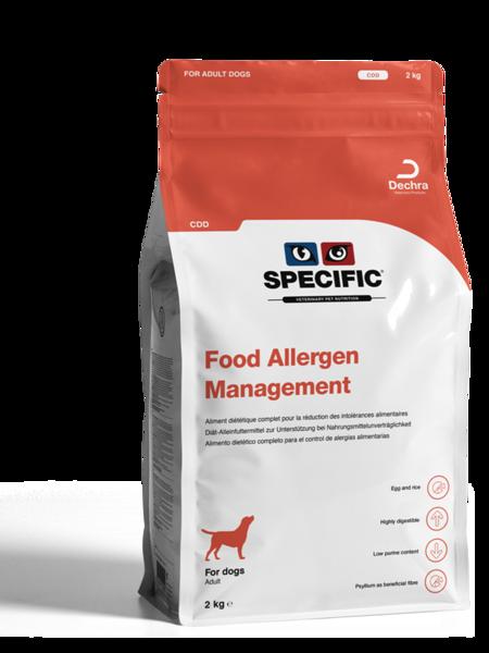 CDD Food Allergy Management