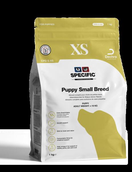 CPD-XS Puppy Small Breed XS granulas
