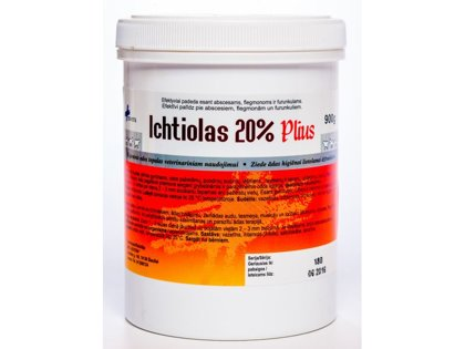 Ihtiola ziede 20% (Ichtiolas plus)