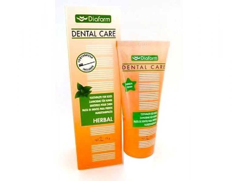 DF TOOTHPASTE FOR DOGS HERBAL 75G