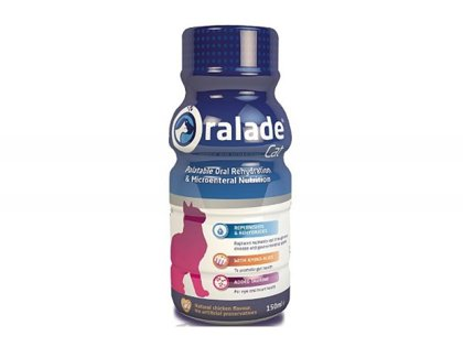 Oralade cat 150 ml kaķiem