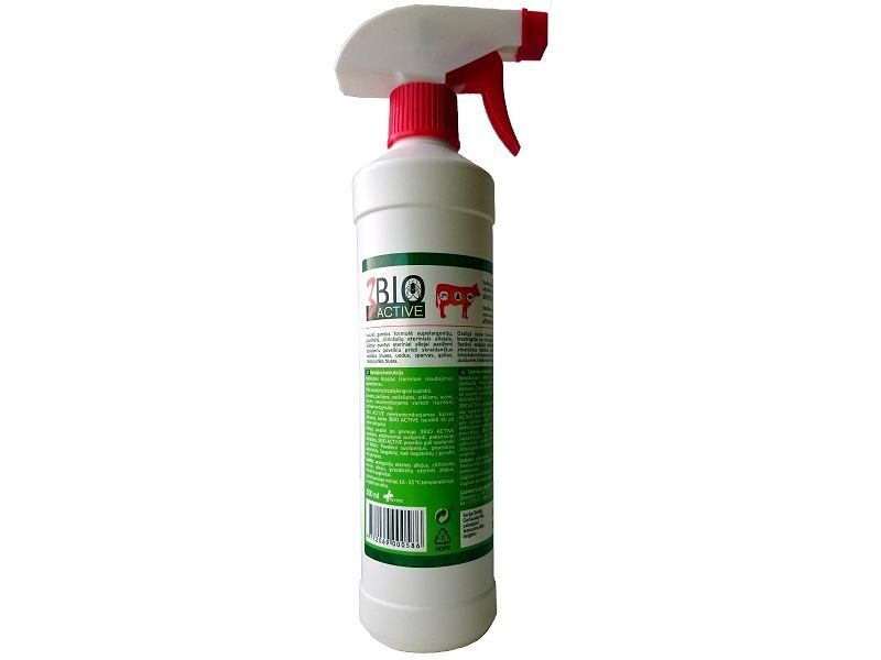 3BIO ACTIVE REPELLENT 500ML SPRAY